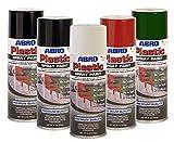 Abro Plastique Bombe de peinture Blanc brillant–Fenêtre PVC ou résine sans ponçage 400ml ou amorçage