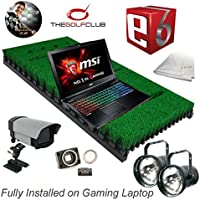 PROTEE Base Pack One Pro Golf Simulator with TGC and E6 software packages Fully installed on gaming laptop.