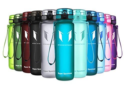 Super Sparrow Trinkflasche - Tritan Wasserflasche -
