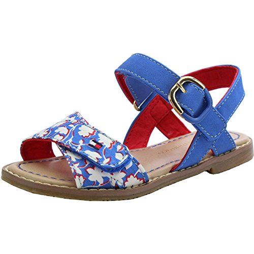 Tommy Hilfiger Sasha 2C Palace Blue Synthetic Flat Sandals Palace Blue