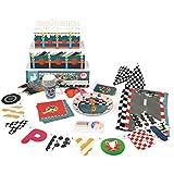 Janod - Set para fiesta de cumpleaños, diseño carreras (08502854)