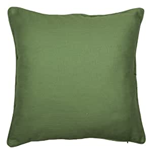 100% Baumwolle, Dobby Kissenhülle/Kissenbezug, 45.72 cm x 45.72 cm, Farbe grün