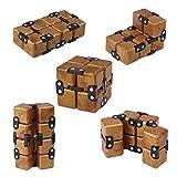 Newin Star El Infinito Cube Fidget Juguete EDC Killing Time descompresión Reducir la ansiedad Rompecabezas de Juguete para niños y Adultos