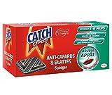 CATCH Contaminateurs anti-cafarads et blattes - Set de 6 pièges (36 mois d'utilisation)