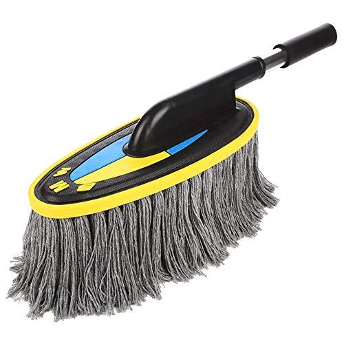 Vinteen pulizia auto mop asciutto e bagnato doppio utilizzo spazzola telescopica supporto auto auto cotone dedicato inserto multifunzione auto lavaggio spazzola tampone swab swabber