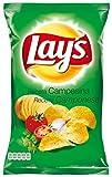 Lay's Patatas Fritas con Condimento Preparado de Vegetales y Especias con Azúcares y Edulcorante - 170 g