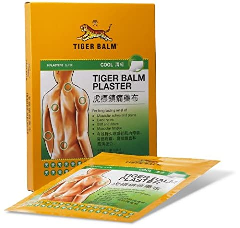 Grand Patch Baume du Tigre Froid Anti-Douleurs (Tiger Balm) - NaturalBalm