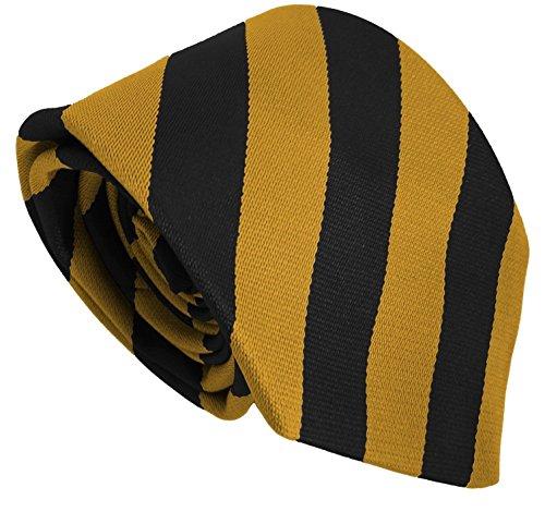 School Ties (23 Block Stripe Colour Variations) High School Senior Size