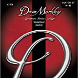 Dean Markley 2508B Jeu de cordes pour Guitare électrique Nickel Steel Custom Light 9-46