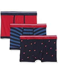 Springfield 3 Pack Red and Blue, Boxer Homme