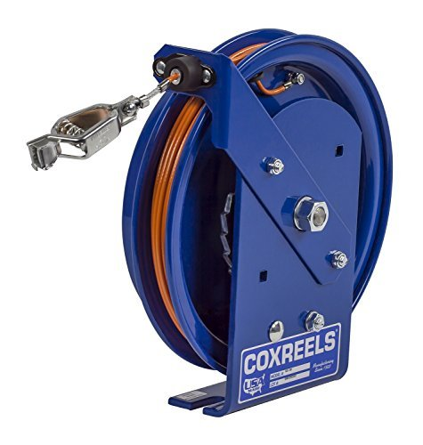Spring Reel Rewind (Coxreels SD-50-1 Spring Rewind Static Discharge Cable Reel: 50' stainless steel cable by Coxreels)