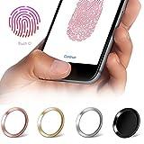 moodie Touch ID Sticker in Kupfer mit Fingerabdruckfunktion für iPhone 6 / 6S / 7 Home Button Aufkleber - passende Ergänzung zu Panzerglas (bildet EIN Höhenlevel)