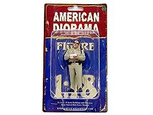American Diorama-Policía Serie Highway Patrol 1Figura, 77463, (Escala 1/18