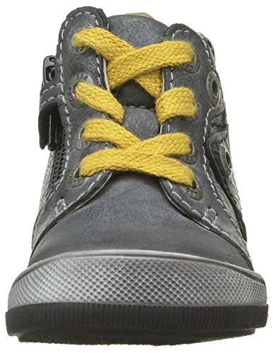 GBB Jungen Noah Sneaker Grau - Gris (11 Vte Anthracite/Jaune Dfp/Manbo)