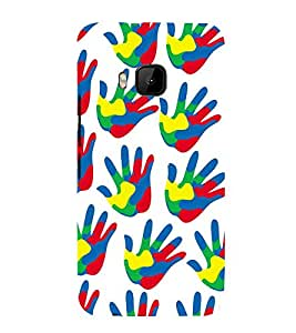 PrintVisa Designer Back Case Cover for HTC One M9 :: HTC One M9S :: HTC M9 (bunch flowers herbs wild mouse)