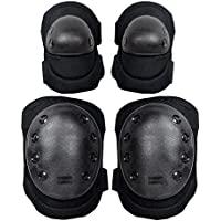 Global I Mall G-i-Mall Advanced Tactical Protective Pad Set Knee Pads Elbow Pads