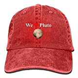 MN.NM4554 We Love Pluto Vintage Adjustable Jeans Cap Baseball Cap for Adult