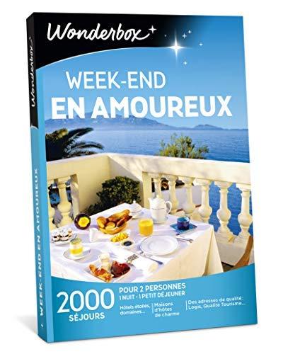 Wonderbox - Coffret cadeau couple - WEEK-END EN AMOUREUX –...