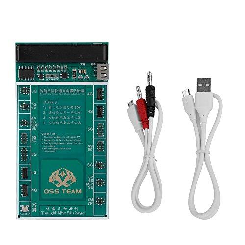 VBESTLIFE Batterie Schnellgebühr Aktivierung 2IN1 Leiterplatte Smart Phone Test Fixture Kit für iPhone4g/4s/5g/5c/5s/se/6/6s/6sp/7g/7p, Etc.