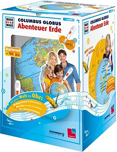 """WAS IST WAS Columbus Globus \""""Abenteuer Erde\"""": Mit TING-Stift (TING - Spielen, Lernen, Wissen)"""