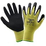 Evilandat Wonder Grip WG 730 Schnittfest Nitril Sicherheit Arbeit Handschuhe EN388 Stufe 4 Schutz