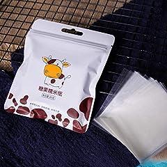 Idea Regalo - 500 fogli Torrone Carta da regalo commestibile riso glutinoso carta da forno di carta di caramella di caramella di carta trasparente