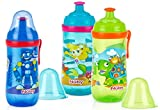 2 Pack Busy Sipper cup with Pop-Up Sippe...