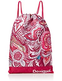 Desigual BOLS_GYM BAG P, Bolsa de Medio Lado para Mujer, Rojo (3192 Rouge RED), 15x42x29 cm (B x H x T)
