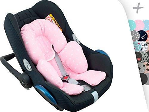 Auto-Sitzverkleinerer Antiallergikum by Janabebe® Pink Sparkles