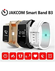JAKCOM B3inteligente banda Bluetooth presión arterial Monitor de frecuencia cardíaca Fitness Tracker Monitor de sueño Talkband para iOS Android