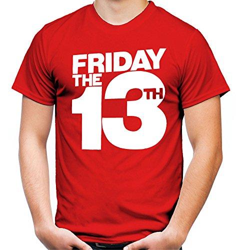 Friday 13 Männer und Herren T-Shirt | Freitag der 13 Halloween Horror Geschenk (S, (Kostüme Plus Ideen Size Gute Halloween)