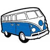 Bestellmich - Parche termoadhesivo, tamaño grande, diseño de camioneta Volkswagen Bulli