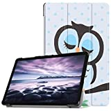 Meijunter Folio Case for Samsung Tab A 10.5 SM-T590 T595 Tablet - Slim Shockproof Cover Lightweight Standing Shell with Auto Wake/Sleep