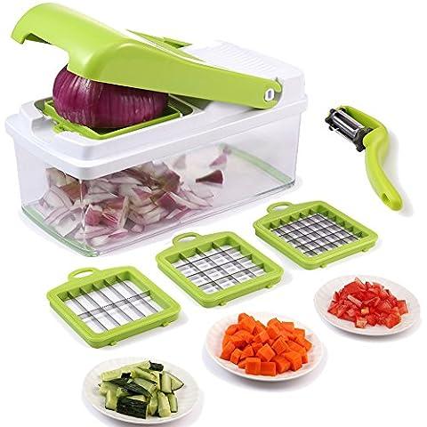Coupe Legumes Et Oignons - Chopper à légumes, trancheuse à légumes à