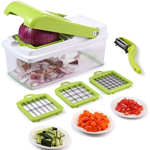 Chopper à légumes, trancheuse à légumes à fruits Dicer