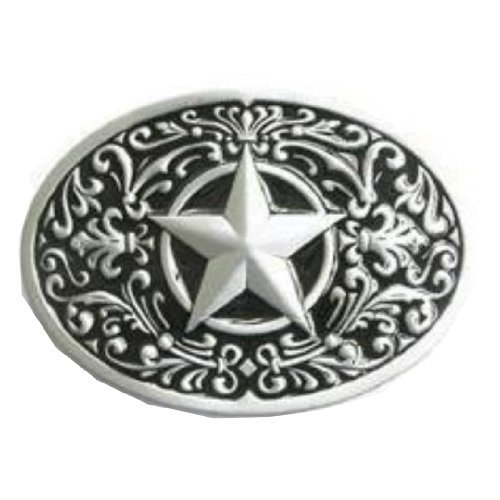 2441ce1ce8f2 Ivory Falcon Men's Western Lone Star Belt Buckle One Size Mixed