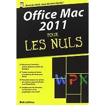 Office Mac 2011 Poche pour les nuls