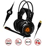 KLIM Puma - Micro Gamer Headset - 7.1 surround sound - High Quality