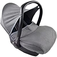 BAMBINIWELT kompl. Ersatzbezug für Maxi-Cosi CabrioFix 7-tlg., Bezug für Babyschale, Sommerbezug Cabrio Fix