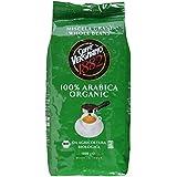 Caffè Vergnano 1882 Bio 100% Arabica Ganze Bohnen, 1er Pack (1 x 1 kg)