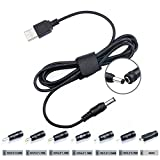 8 in 1 Universal Konverter Kabel Hub 5.5*2.1mm für 5050 3528 LED Strip RGB Theater Dockstar Seagate WD 5V 9V 12V 17V 1A 2A 3A+7 Steckers Micro USB/2.5*0.7/3.5*1.35/4.0*1.7/4.8*1.7/5.5*1.7/5.5*2.5mm