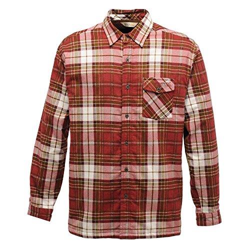 Regatta Lumbar - Chemise à carreaux à manches longues - Homme Leather