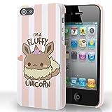 Kanto Factory Coque pour iPhone 4 et 4S Pokémon Evoli Kawaii Eevee I'm a Fluffy...