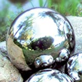 Edelstahl-Gartenkugel 20 cm