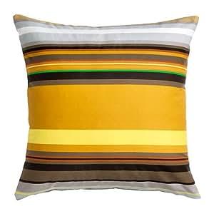 ikea stockholm housse de coussin ray jaune 50x50 cm cuisine maison. Black Bedroom Furniture Sets. Home Design Ideas