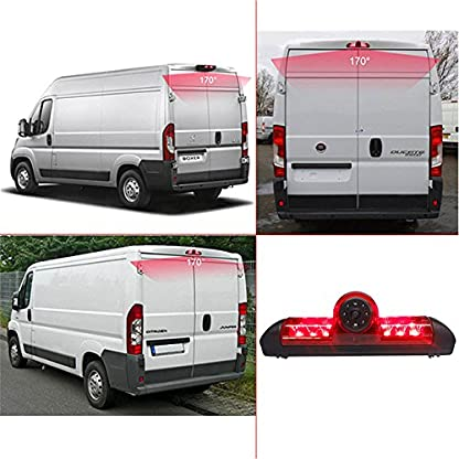 Rckfahrkamera-Transportster7-Zoll-TFT-LCD-Bildschirm-Auto-Monitor-im-3Bremslicht-Bremsleuchte-Passend-fr-Ducato-X250-Peugeot-BoxterCitroen-Jumper