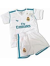 5e73d882ba8f3 Kit Infantil Primera Equipación Replica Original Dorsal Sergio Ramos (Talla  14 ...