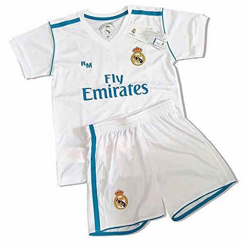 Kit Infantil Primera Equipación Replica Original Dorsal Sergio Ramos (Talla 6 años)
