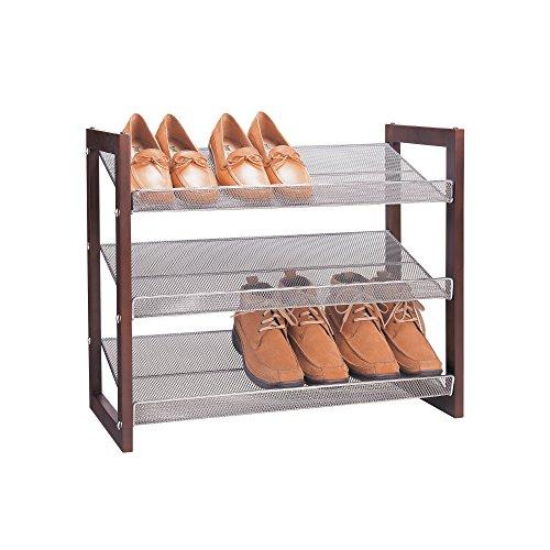 Organisieren It All Boston 3-Tier-Shoe-Shelf -