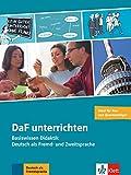 DaF unterrichten: Basiswissen Didaktik - Deutsch als Fremd- und Zweitsprache . Buch + Video-DVD - Hans-Jürgen Hantschel
